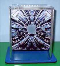 Apple Cube, borg-style