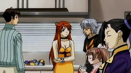 Kyohei, Meg, Jo, Amy and Sei - Bakuretsu Tenshi's Main Players