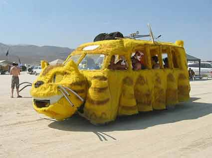 Who wants a ride on the Nekobus?
