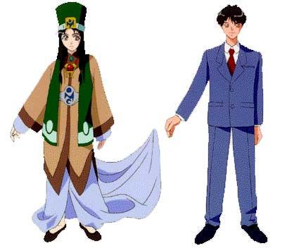 The two looks of Makoto Mizuhara