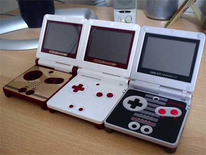GBA extremely limited edition Famicom version, normal limited edition Famicom version, NES version