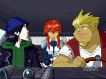Megas XLR Main Cast